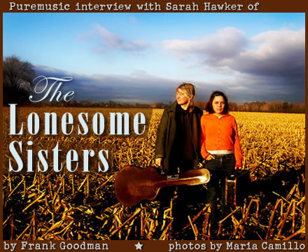 Puremusic interview with The Lonesome Sisters