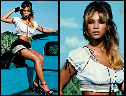 Beyonce in the country