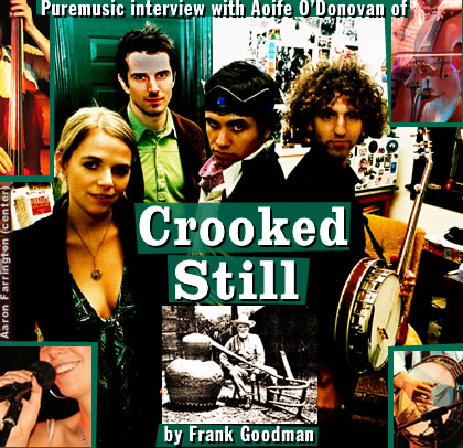 Puremusic interview with Aoife O'Donovan of Crooked Still