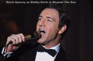Kevin Spacey as Bobby Darin