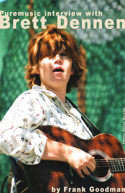 Puremusic interview with Brett Dennen