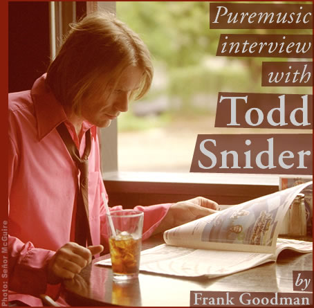 Puremusic interview with Todd Snider
