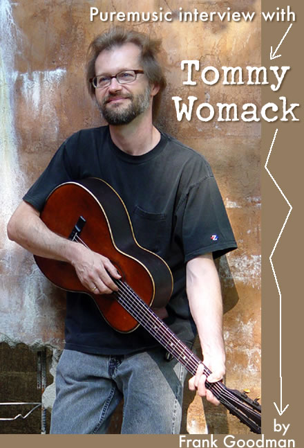 Puremusic interview with Tommy Womack