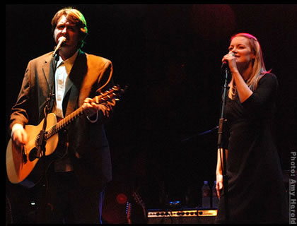 Bruce Robison and Kelly Willis