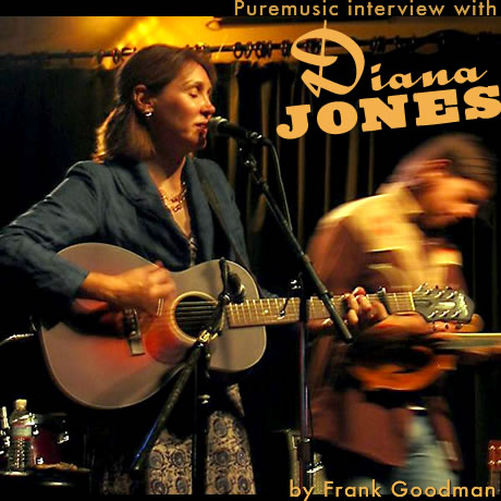 Puremusic interview with Diana Jones
