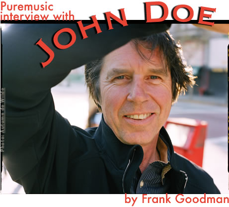 Puremusic interview with John Doe