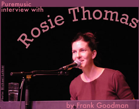 Puremusic interview with Rosie Thomas