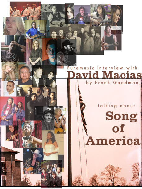 Puremusic interview with David Macias about Song of America