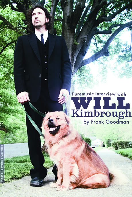 Puremusic interview with Will Kimbrough