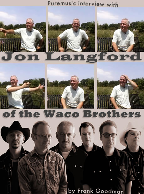 interview with Jon Langford of the Waco Brothers