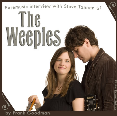 Puremusic interview with Steve of The Weepies