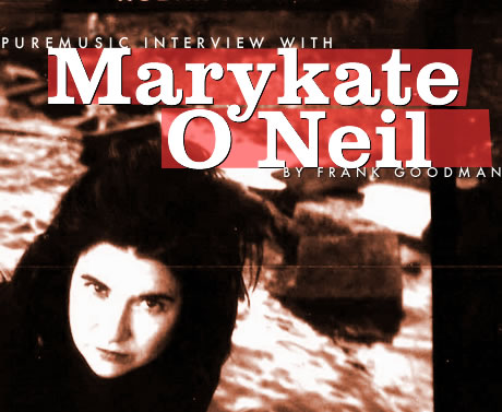 Puremusic interview with Marykate O'Neil