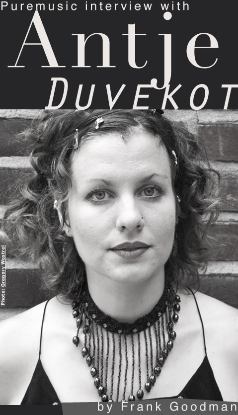 Puremusic interview with Antje Duvekot