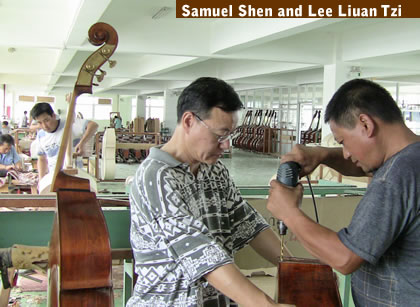 Sam Shen and Lee Liuan Tzi