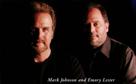 Mark Johnson and Emory Lester