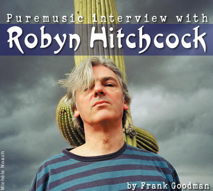 Puremusic interview with Robyn Hitchcock