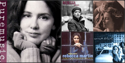 Rebecca Martin (and album covers)