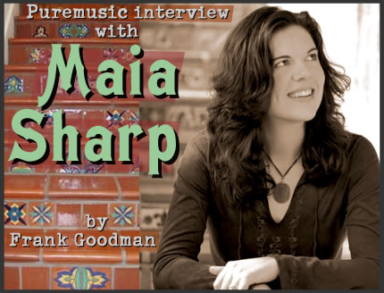 Puremusic interview with Maia Sharp