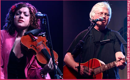Carrie Rodriguez and Chip Taylor