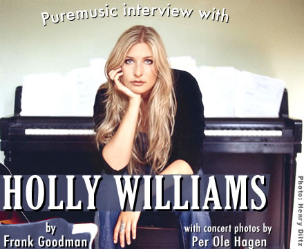 Puremusic interview with Holly Williams