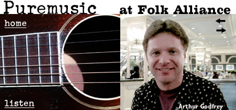 Arthur Godfrey at Folk Alliance