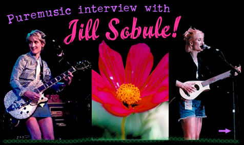 Puremusic Interview with Jill Sobule